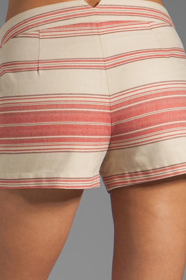 BCBGMAXAZRIA Striped Shorts