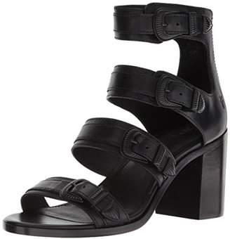 Frye Women's Danica Western Buckle Heeled Sandal