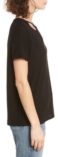 Women's Michelle By Comune Cutout Neck Tee 3