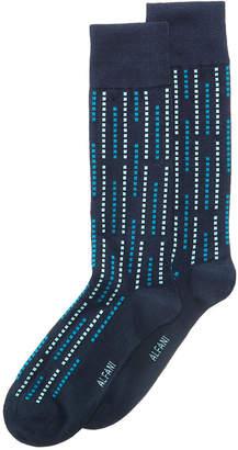 Alfani Men Geo Raindrop Printed Dress Socks