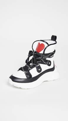 Moschino Hi Top Sneakers
