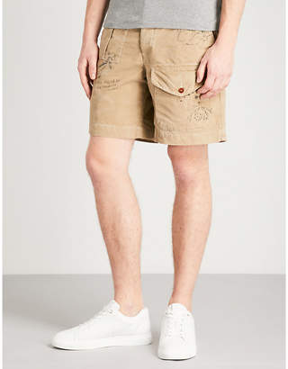 Polo Ralph Lauren Printed classic-fit cotton shorts