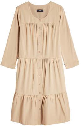 Steffen Schraut Button-Front Dress with Cotton