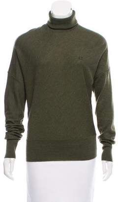 Balenciaga Wool Turtleneck Top