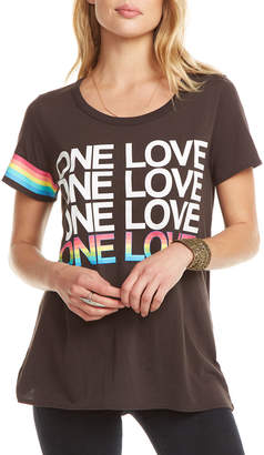 Chaser One Love Open-Back Tee
