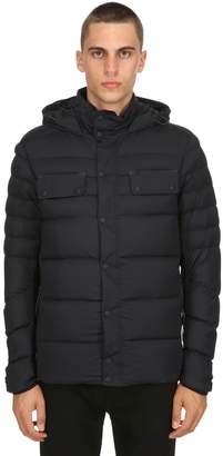 Belstaff Atlas Hooded Nylon Down Jacket