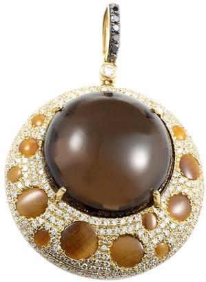 Generic Gemstones 18K 0.78 Ct. Tw. Diamond & Gemstone Enhancer