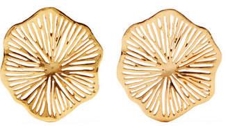Oscar de la Renta Gold-plated Earrings