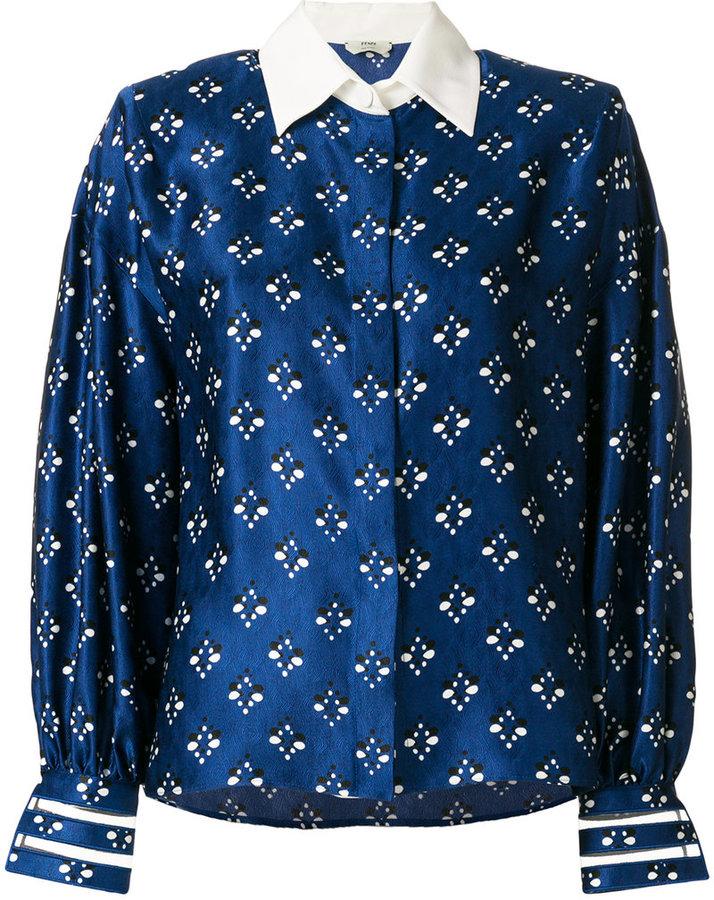 Fendi printed shirt blouse