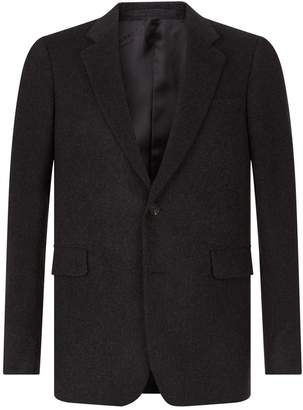 Burberry Cashmere Single-Breast Jacket