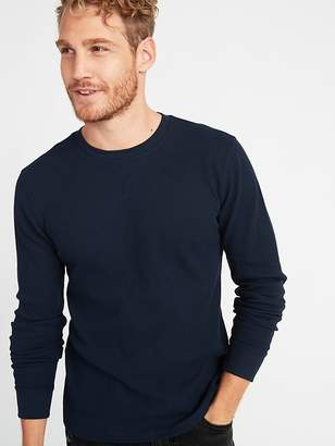 Old Navy Soft-Washed Thermal-Knit Crew-Neck Tee for Men