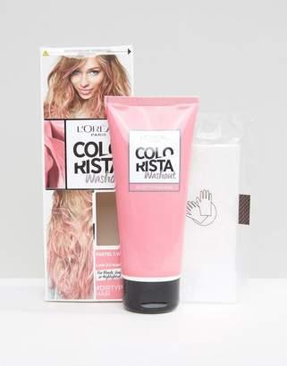 L'Oreal L Oréal Pa Colorista Wash Out Hair Colour - Dirty Pink