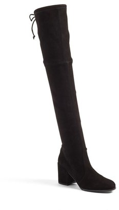 Women's Stuart Weitzman Tieland Over The Knee Boot $798 thestylecure.com
