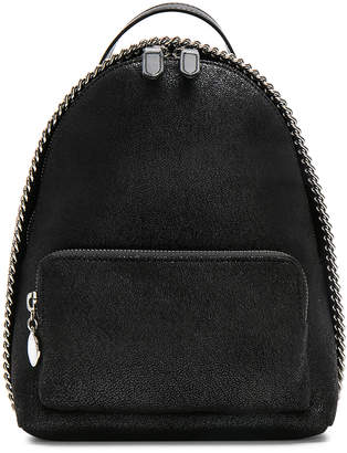 Stella McCartney Falabella Mini Backpack in Black   FWRD