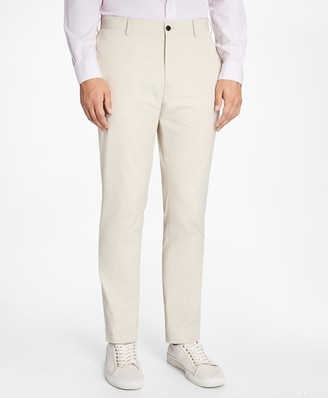 Brooks Brothers Slim-Fit Cotton Suit Trousers