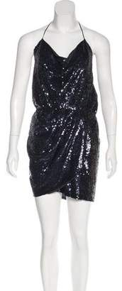 Haute Hippie Sequined Mini Dress