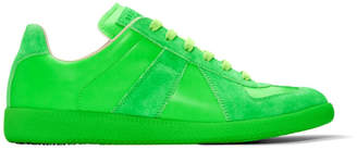 Maison Margiela Green Fluo Replica Sneakers