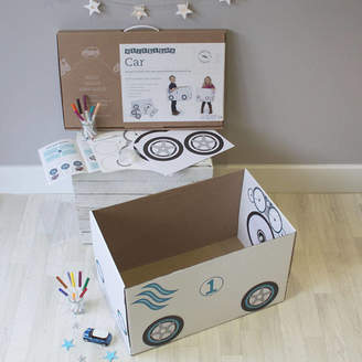 Atkinson + Turner Personalised Cardboard Box Car Kit With Box