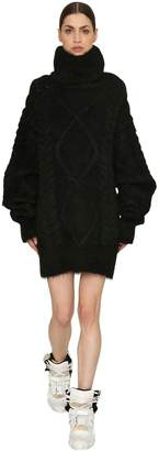 Maison Margiela Oversized Alpaca & Mohair Knit Sweater