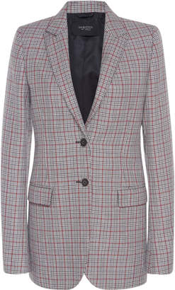 Giambattista Valli Checked Wool-Blend Blazer