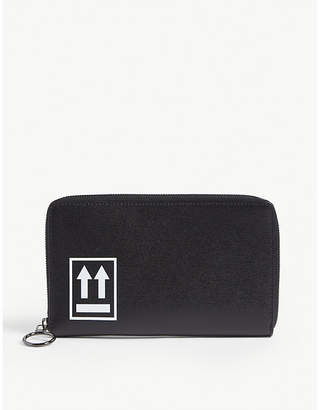 Off-White Arrow motif leather wallet