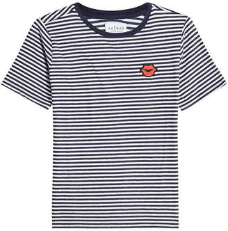 Velvet Rain Striped T-Shirt