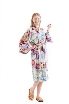 Robe&Wedding Bride Robe Women Robe Cotton Robe Long Style (2XL, )