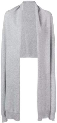 Agnona asymmetric cardigan