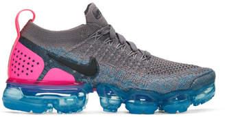 Nike Grey Air VaporMax Flyknit 2 Sneakers