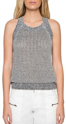 Women's Willow & Clay Knit Racerback Tank $79 thestylecure.com