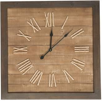Maison Avant Septima Roman Numeral Wall Clock, 75cm