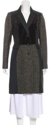 Etro Wool-Blend Patterned Coat