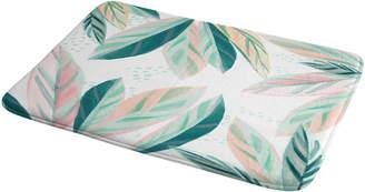 Deny Designs Painterly Palm Bath Mat