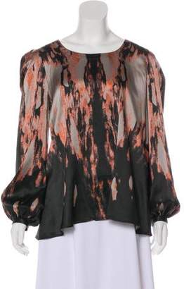 Givenchy Silk Printed Top