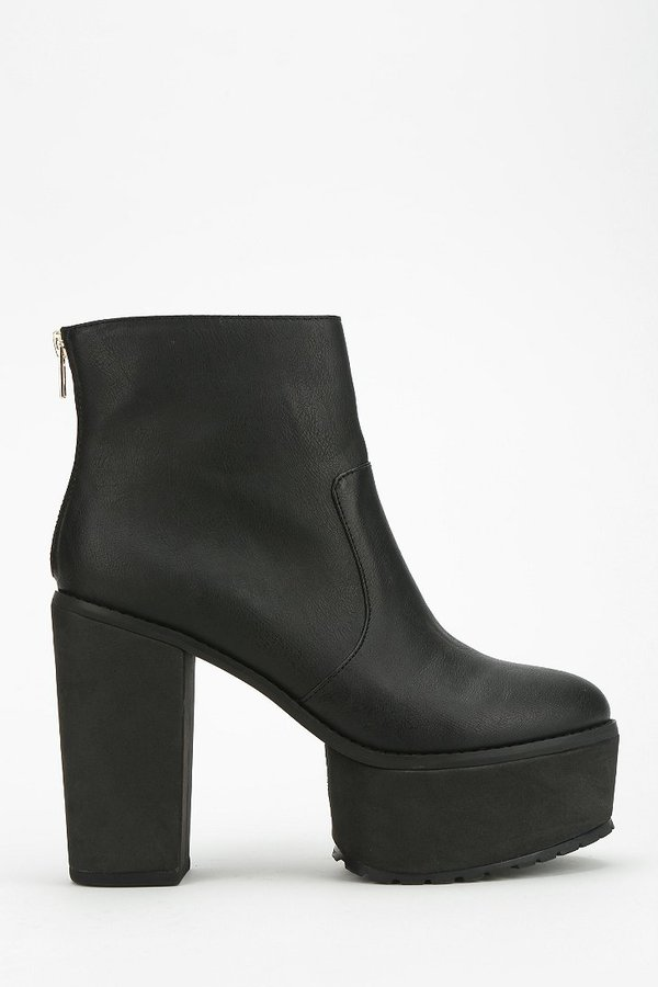 Urban Outfitters Deena & Ozzy Treaded Platform Ankle Boot