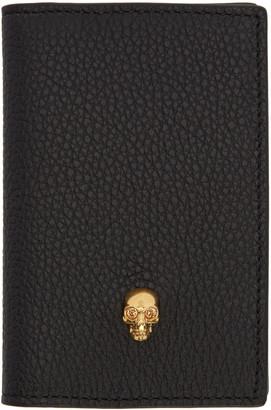 Alexander McQueen Black Skull Pocket Organizer $215 thestylecure.com