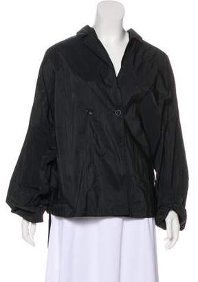 Oska Pinstriped Casual Jacket