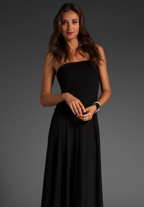 Susana Monaco Light Supplex Draped Tube Dress