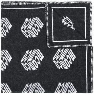 McQ Cube blanket scarf