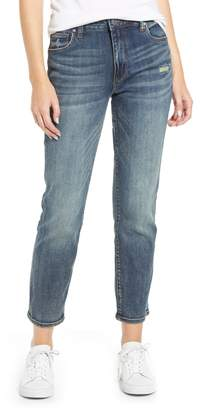 KUT from the Kloth Reese High Waist Distressed Ankle Skinny Jeans