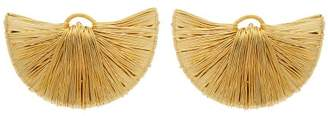 Joelle Gagnard Kharrat - Peacock Gold Plated Clip On Earrings - Womens - Gold
