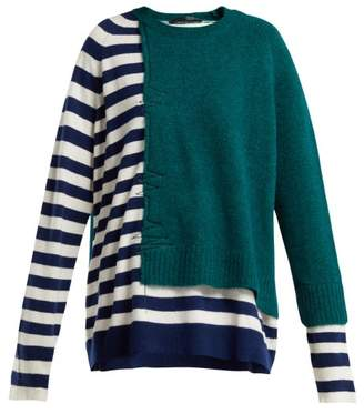 Haider Ackermann Muscari Striped Sweater - Womens - Green