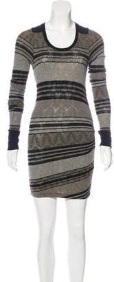 Etoile Isabel Marant Knit Bodycon Dress