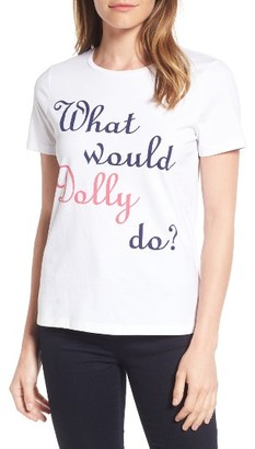 Women's Draper James Dolly Cotton Tee $38 thestylecure.com