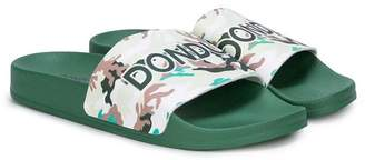 Dondup Kids TEEN logo print slides