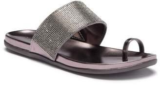Kenneth Cole Reaction Slim Tracks Embellished Slide Sandal