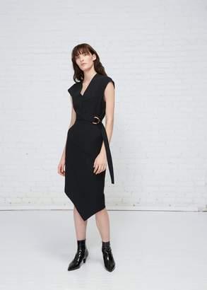 Proenza Schouler Sleeveless Spiral Dress