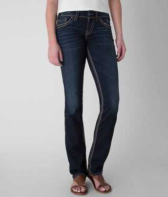 Silver Suki Straight Stretch Jean $88 thestylecure.com