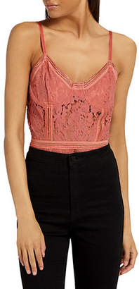 Missguided Sport Tape Corded Lace Bodysuit