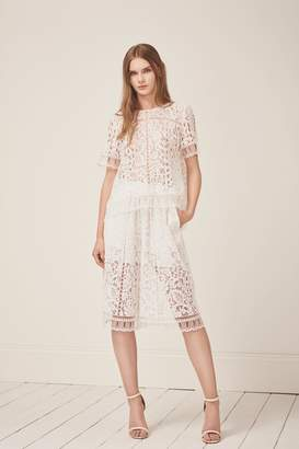 French Connection Arta Lace Culottes